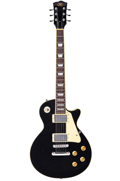 SX Les Paul Electric Guitar/Amp Package (Black)